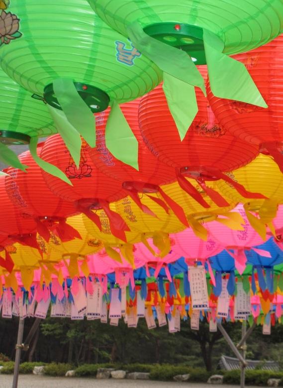 Lanterns at Gakwonsa Temple