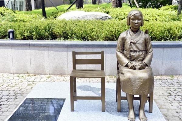 Comfort Women Statue in Seoul