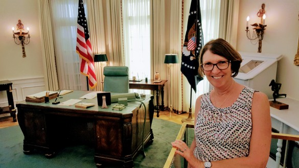 Johnson's oval office