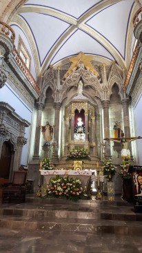 Altar inside Our Lady of Solitude