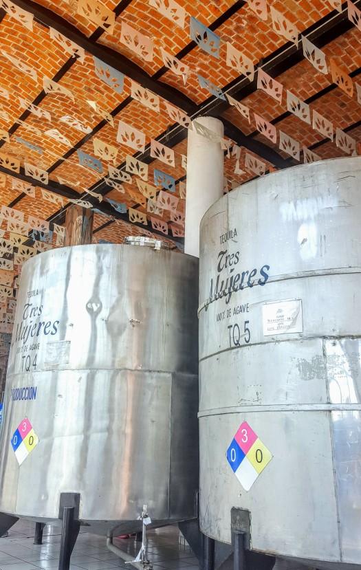 Drums used in distilling