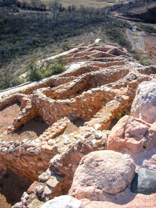 Tuzigoot from the top