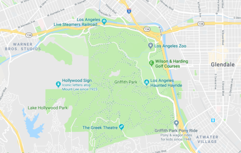 Griffith Park Los Angeles Map.A Local S Guide To Griffith Park The Thrifty Travelista
