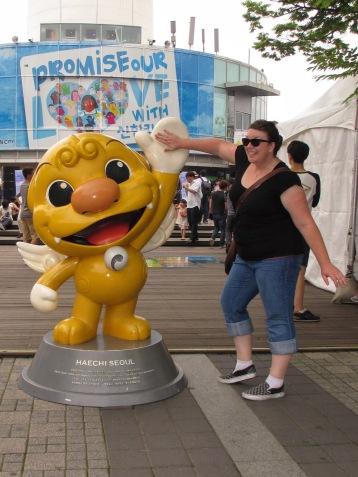 Seoul city mascot: Haechi