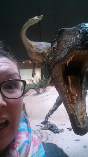 Dinosaur attack!