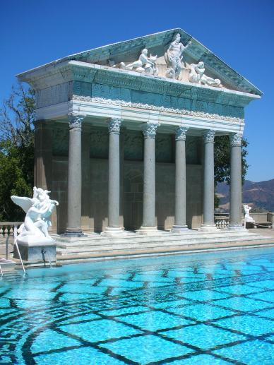 Neptune's pool at Hearst Castle