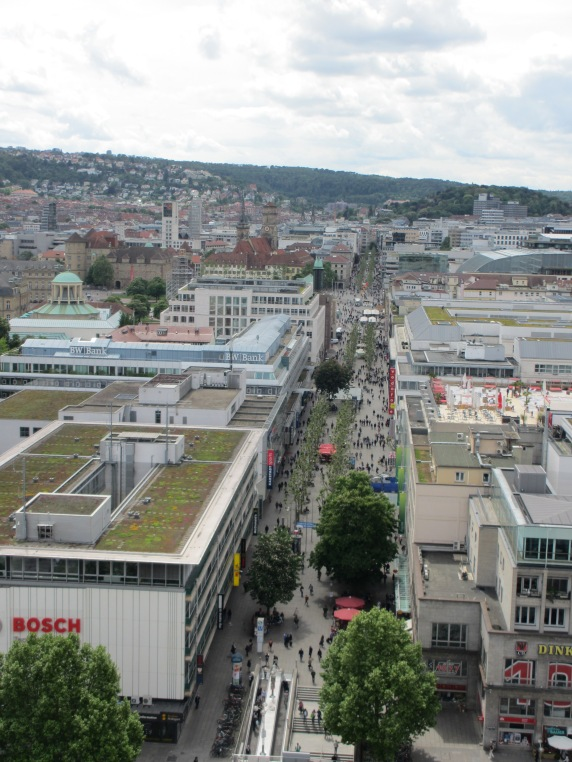 Stuttgart from Mercedes Tower 2