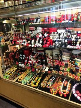 Bakelite display at Dazzles