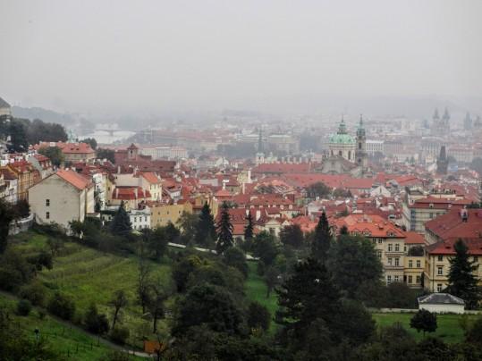 View of Prague from Strahov Monastery