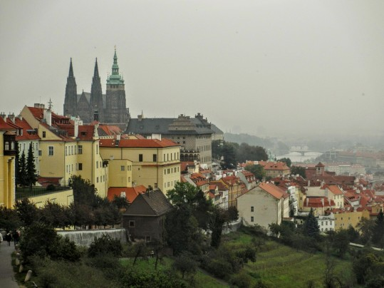 View of Prague from Strahov Monastery