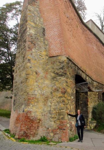 Wall at Strahov Monastery