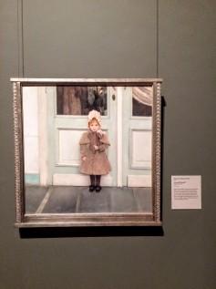 """Khnopff """"Portrait of Jeanne Kefer"""""""